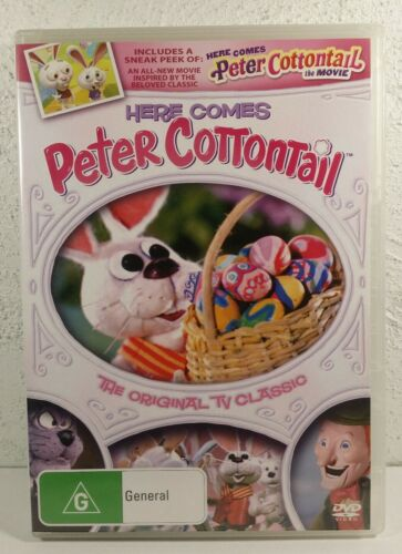 Peter Cottontail DVD The Movie