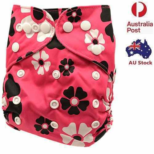Baby Girl Modern Cloth Nappies Nappy Baby Pants Cloth Diaper With Liner ( D180 )