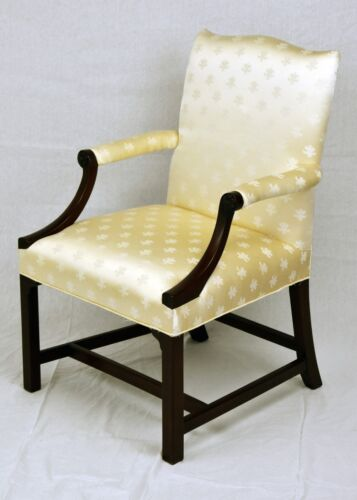 Kittinger Williamsburg Mahogany Chair Chippendale Style
