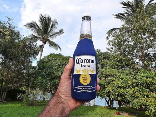 Corona Extra Beer Bottle Koozie Keeps Your Beer Cold For 1 Only Brand New....