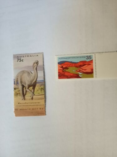 500 Australian MUH $1.10 (2 stamps) Postage Stamp - Full Gum Mint - Face $550