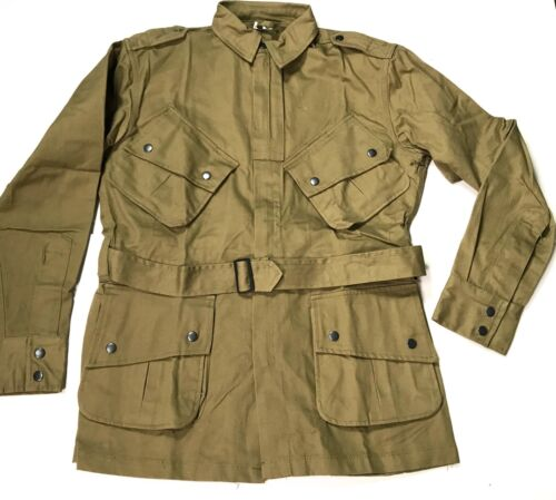 WWII US AIRBORNE PARATROOPER M1942 M42 UNREINFORCED JUMP JACKET-LARGEUnited States - 156437