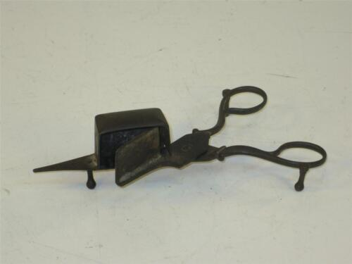 Antique Candle Wick Trimmer Scissors Made of Hand Forged Iron
