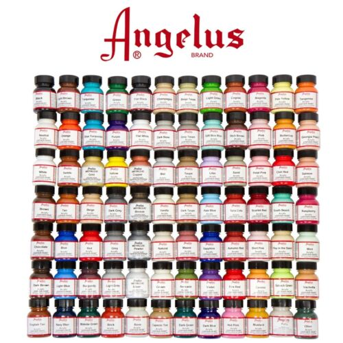 Angelus Leather Paint 29.5 ml for leather shoes, sneakers, bags