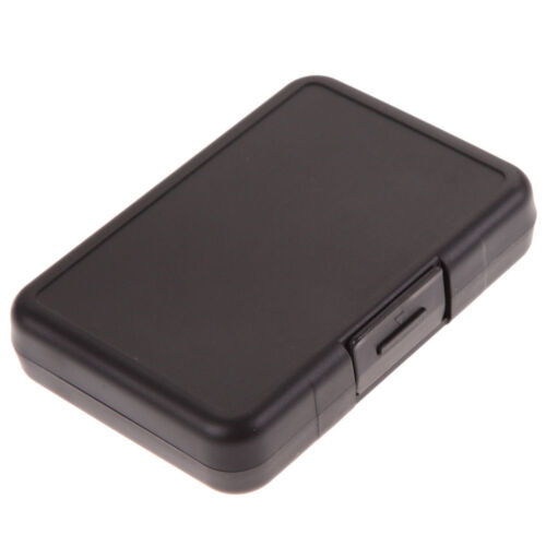 Portable 12 Micro SD SDHC CF Memory Card Storage Carrying Case Holder Protector