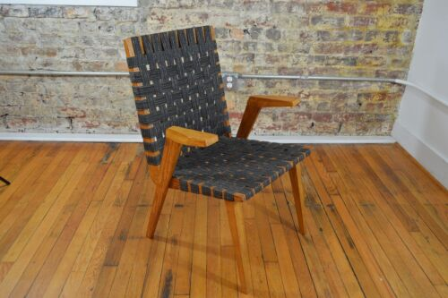 Mid Century Danish Modern Arm Chair in the Style of Jens Risom / Mel Smilow