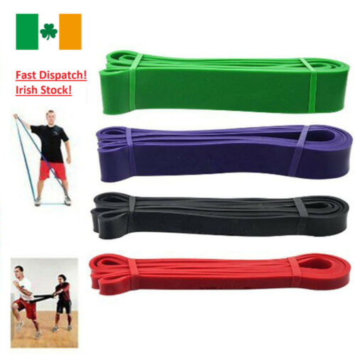 Exercise Pull Up Resistance Bands Loop Band Weight Training Fitness Crossfit