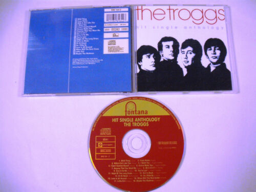 THE TROGGS Hit Single Anthology CD