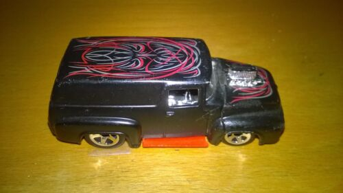 Voiture Hot Wheels 56 Ford Truck Panel 1999 SERIES FLAT BLACK RED SINGLE