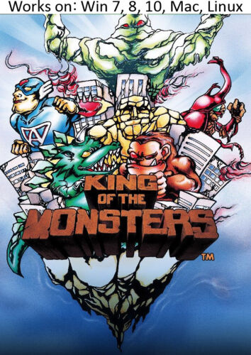 King of the Monsters PC Mac Linux Game 1991 Win 7 8 10
