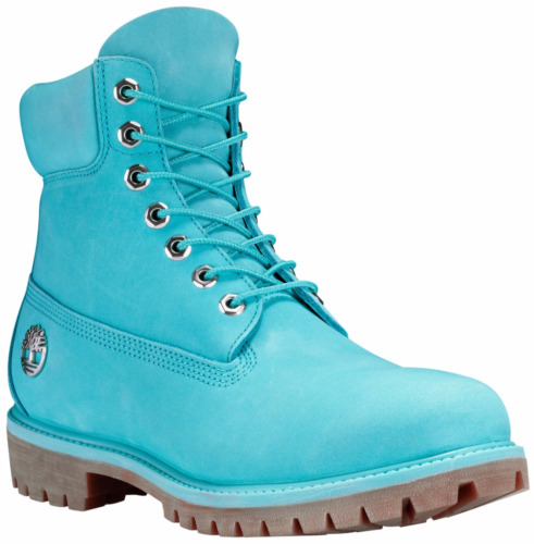 Timberland Mens Limited Release Fire Water 6 Inch Premium Waterproof Boots Blue
