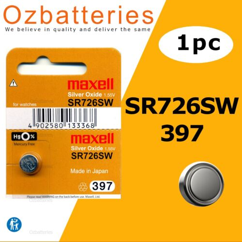 1pc SR726SW (397) Maxell 1.55V made in Japan - Up to 15% off the more you buy