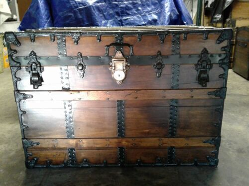 Beautifully Refinished C.A. Taylor trunk