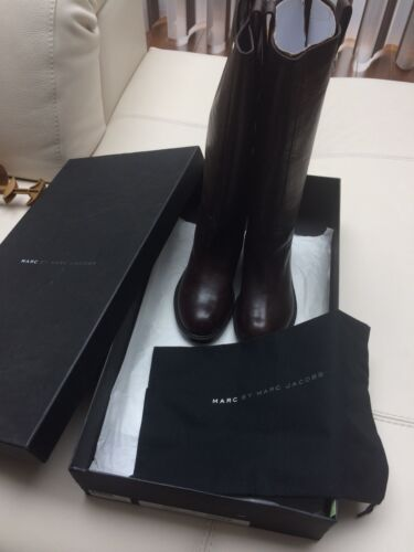 Marc By Marc Jacobs Tall Leather Boots