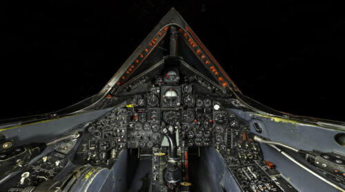 SR-71 BLACKBIRD COCKPIT SUPERSONIC JET POSTER PRINT 20x36 HIGH RES 9MIL PAPER