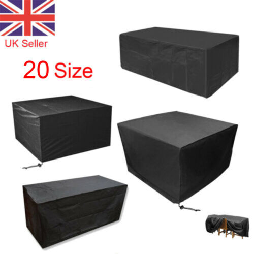 Waterproof Garden Patio Furniture Cover Covers forRattan Table Cube Seat Outdoor <br/> 8 Size#TOP UK SELLER#FAST DELIVERY#HIGH QUALITY