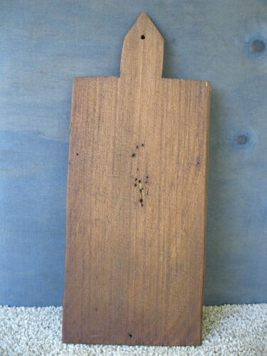 """Vintage Cutting Bread Board Primitive Country 15-1/2"""" x 6-1/2"""" Wood, Dough"""