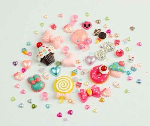Limited Edition Candy Land Face Gems [20g mixed bag] - Festival Kawaii Cosplay