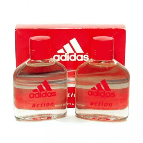 TRAVEL SET ADIDAS ACTION FOR MEN  EAU TOILETTE 100 ML + AFTER SHAVE 100 ML