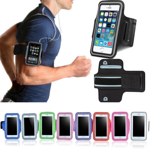 For iPhone XS Max XR X 8 7 6S 6 Armband Case Sport GYM Running Exercise Arm Band