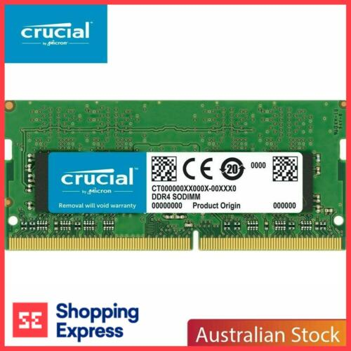 Crucial 8GB 2666MHz DDR4 Laptop Memory SODIMM Laptop CL 19