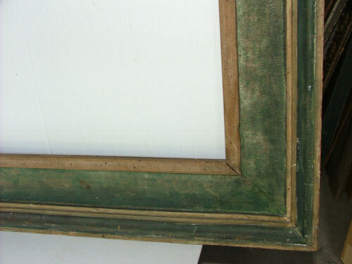 FRAME KNOEDLER GALLERY  MODERN POLYCHROME FITS 17 x 36 INCHES MUSEUM SOLID WOOD