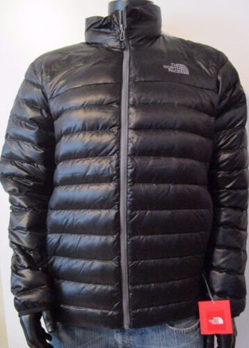 NWT Mens TNF The North Face Flare 550-Down Insulated FZ Puffer Jacket - Black