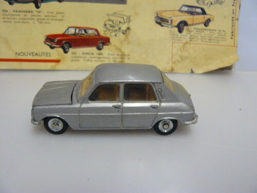 DINKY TOYS  ANCIEN  VOITURE SIMCA 1100 référence 1407 MADE IN FRANCE