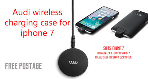 New Genuine Audi Wireless Charging Case for Apple iPhone 7 #8W0051435B