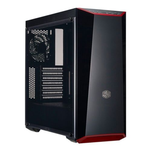Cooler Master MasterBox PC Case Lite 5 Mid Tower ATX Gaming Computer With Window