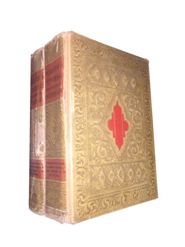 WEBSTER'S UNIVERSAL DICTIONARY OF THE ENGLISH LANGUAGE. 1936 (2 volumi)