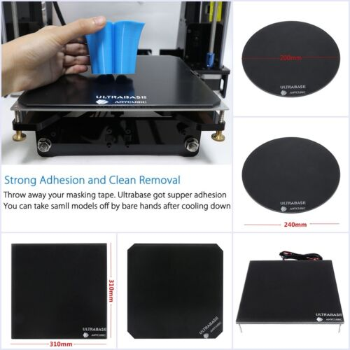 Anycubic Ultrabase Platform Glass Build Plate for 3D Printer MK2 MK3