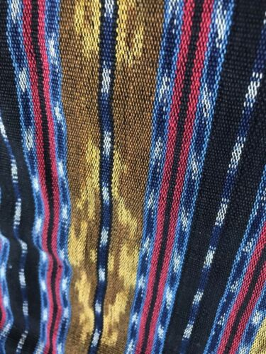 Vintage Handwoven Sarong Fabric from The Lesser Sunda Islands  …beautiful hand..