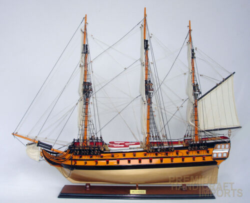 "37""HMS Agamemnon Display Wooden Ship Model"