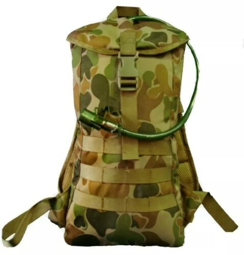 TACTICAL FORCE AUSCAM DPCU HYDRATION BACKPACK MOLLE PADDED #FREE 2L BLADDER!!Hydration Packs - 87125