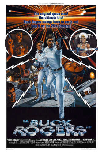 1979 BUCK ROGERS IN THE 25TH CENTURY VINTAGE SCI-FI MOVIE POSTER PRINT 36x24