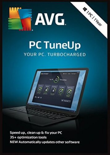 AVG PC TUNEUP 2020 - FOR 1 PC - 1 YEAR - DOWNLOAD