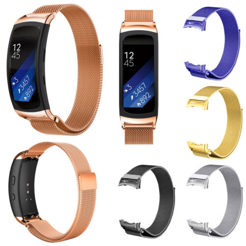 Milanese Stainless Steel Band Strap For Samsung Gear Fit 2 SM-R360 Smart Watch