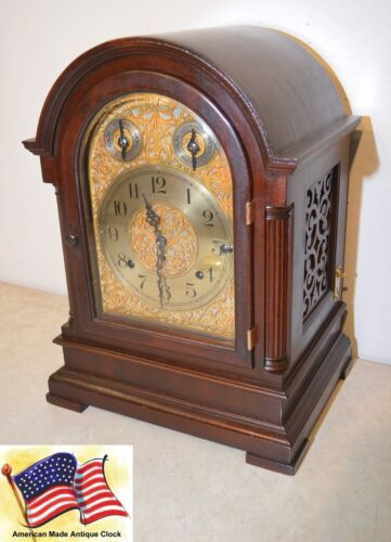 DISTINCTIVECLOCKS FULLY RESTORED SETH THOMAS ANTIQUE 8 BELL SONORA 2000 - 1914