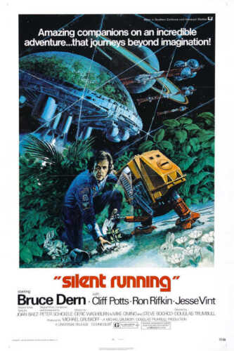 1972 SILENT RUNNING VINTAGE SCI-FI MOVIE POSTER PRINT STYLE A 36x24 9MIL PAPER