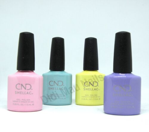 CND Shellac UV Gel Polish .25 oz - CHIC SHOCK COLLECTION SPRING 2018 NEW!!