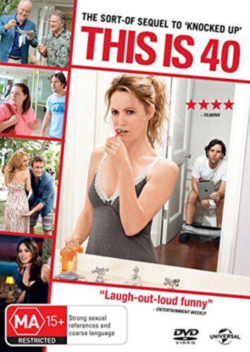 This Is 40 DVD Region 4 NEW