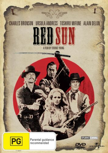 Red Sun DVD Region 4 NEW