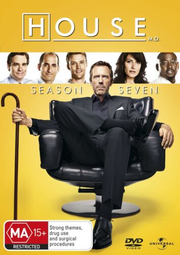House Season 7 Series Seven DVD Region 4 NEW