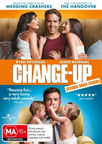 The Change up DVD Region 4 NEW