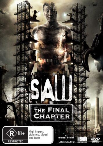 Saw The Final Chapter DVD Region 4 NEW