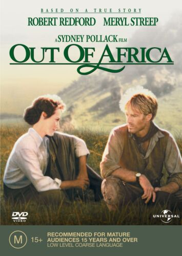 Out of Africa DVD Region 4 NEW