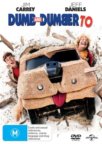 Dumb and Dumber To DVD Region 4 NEW