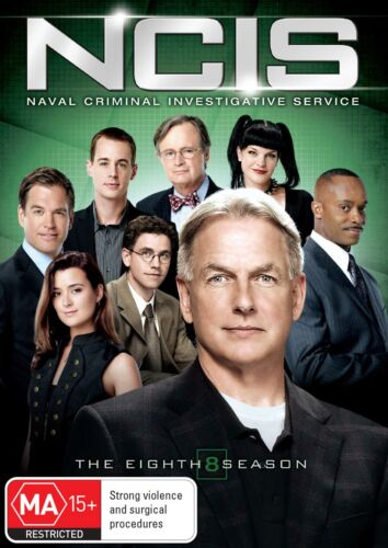 NCIS The Eighth Season 8 Series Eight DVD Region 4 NEW