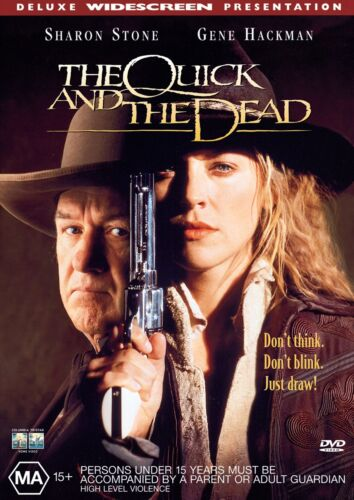 The Quick and the Dead DVD Region 4 NEW